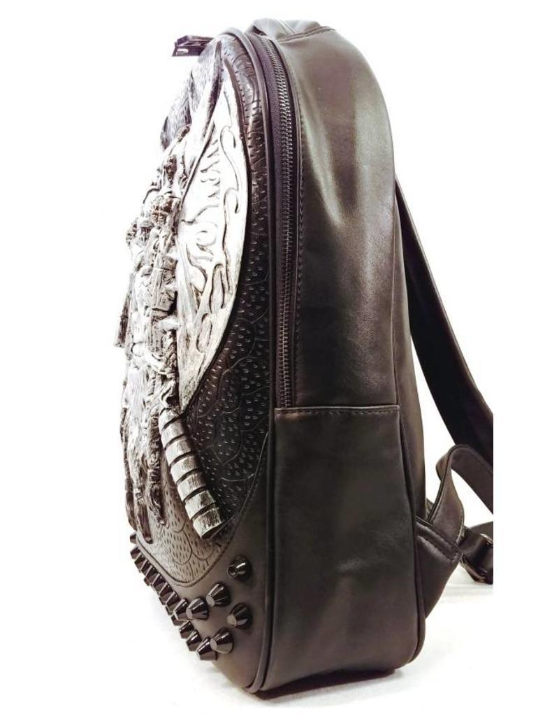 e91681f1dd1 ... Gothic tassen Steampunk tassen - gothic 3D rugzak Viking zilver