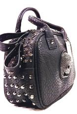 Dark Desire Gothic tassen Steampunk tassen - Gothic handtas met schedeltjes