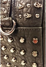 Dark Desire Gothic bags Steampunk bags - Gothic handbag with skulls and studs