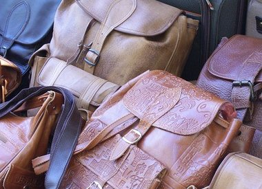 Leather Backpacks and shoppers