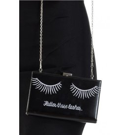 Voodoo Vixen Vintage Lashes shoulder bag clutch