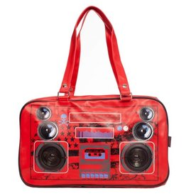 Boombox Yankee Retro bag with real speakers