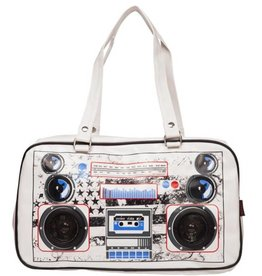 Boombox Yankee Retro bag white