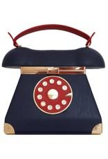 Magic Bags Fantasy tassen - Retro Telefoon tas blauw