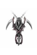 Alchemy Gothic and Cult jewellery - Reaper's Arms pendant and chain Alchemy