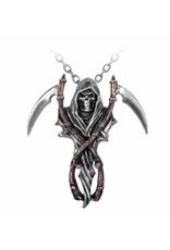 Alchemy Gothic en Cult sieraden - Reaper's Arms hanger en ketting Alchemy