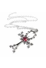 Alchemy Gothic sieraden - Gothic Ankh hanger en ketting Alchemy