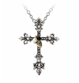 Alchemy Maryam Theotokos Ring Cross hanger en ketting Alchemy