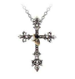 Alchemy Maryam Theotokos Ring Cross pendant en necklace Alchemy