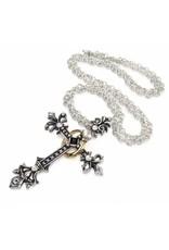 Alchemy Sieraden - Maryam Theotokos Ring Cross ketting - Alchemy