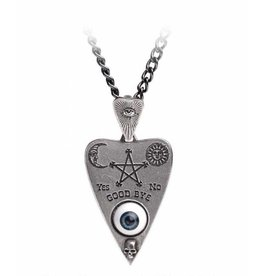 Alchemy Planchette pendant and chain Alchemy