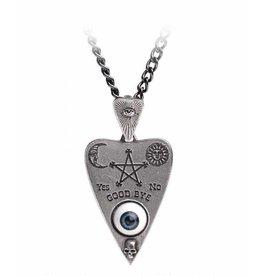 Planchette pendant and chain Alchemy