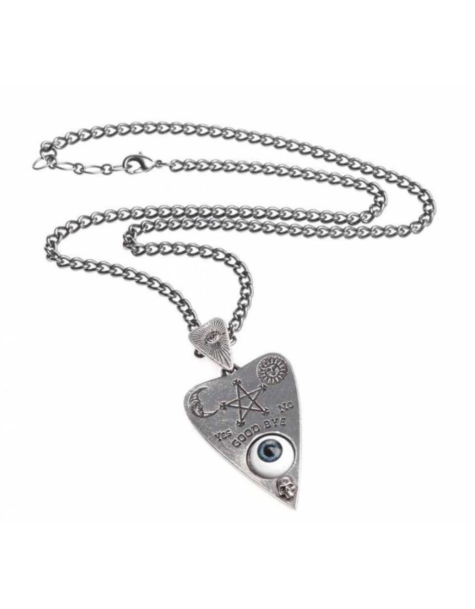 Alchemy Wicca en Occult sieraden - Planchette hanger en ketting Alchemy