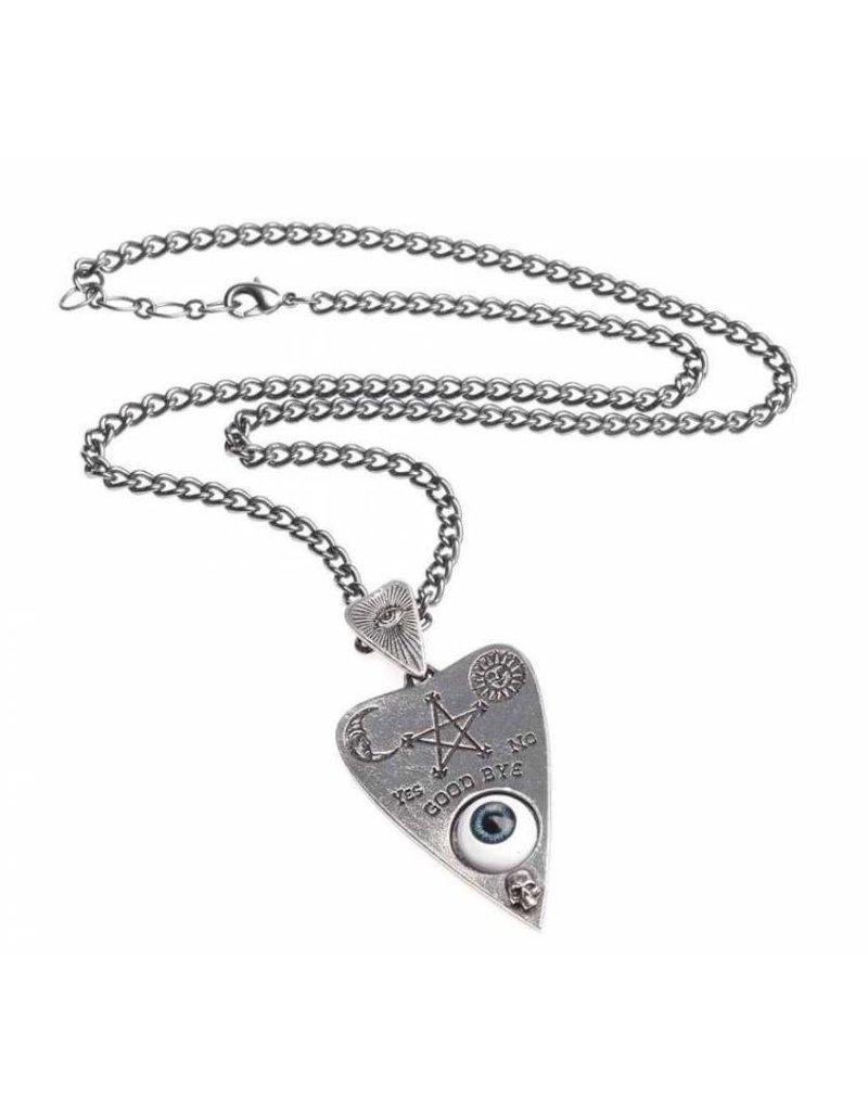 Wicca en Occult sieraden - Planchette hanger en ketting Alchemy