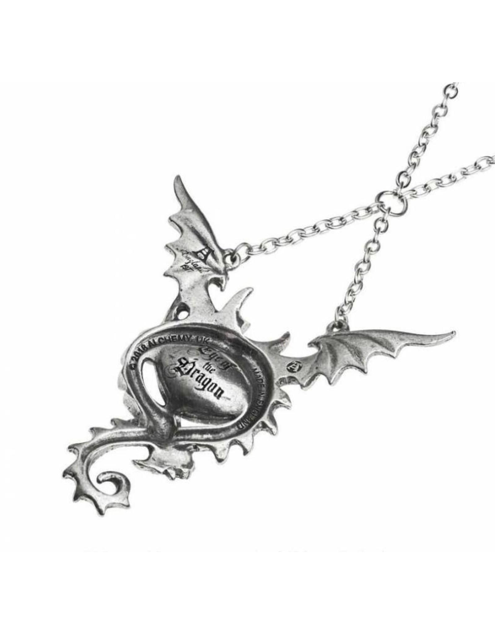 Alchemy Fantasy en gothic sieraden - Eye Of The Dragon colier Alchemy