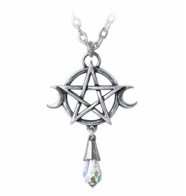 Alchemy Goddess pendant and chain Alchemy