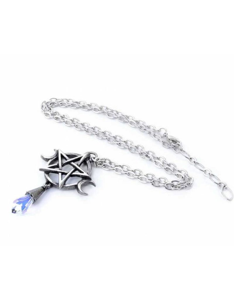 Wicca en occult sieraden -  Goddess hanger en ketting Alchemy
