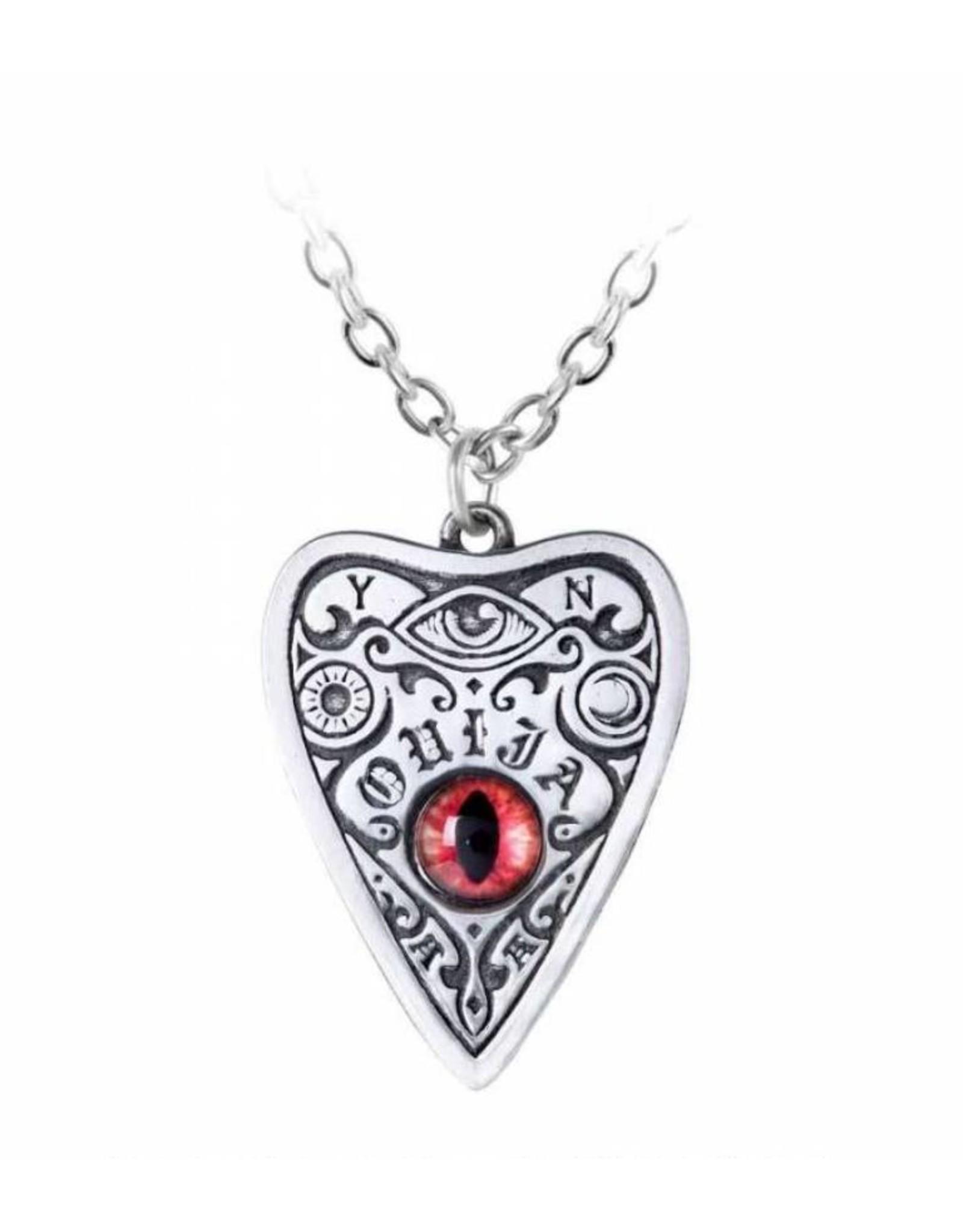 Alchemy Wicca en occult sieraden - Petit Ouija hanger en ketting  Alchemy