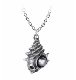The Black Pearl of Plage Noire pendant and chain Alchemy