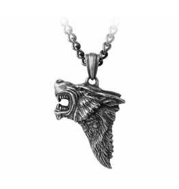 Alchemy Dark Wolf pendant and chain Alchemy