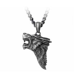 Dark Wolf pendant and chain Alchemy