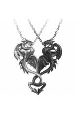 Alchemy Jewellery - Draconic Tryst Dragon necklace Alchemy