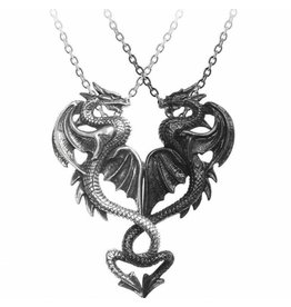 Draconic Tryst pendant and necklace Alchemy