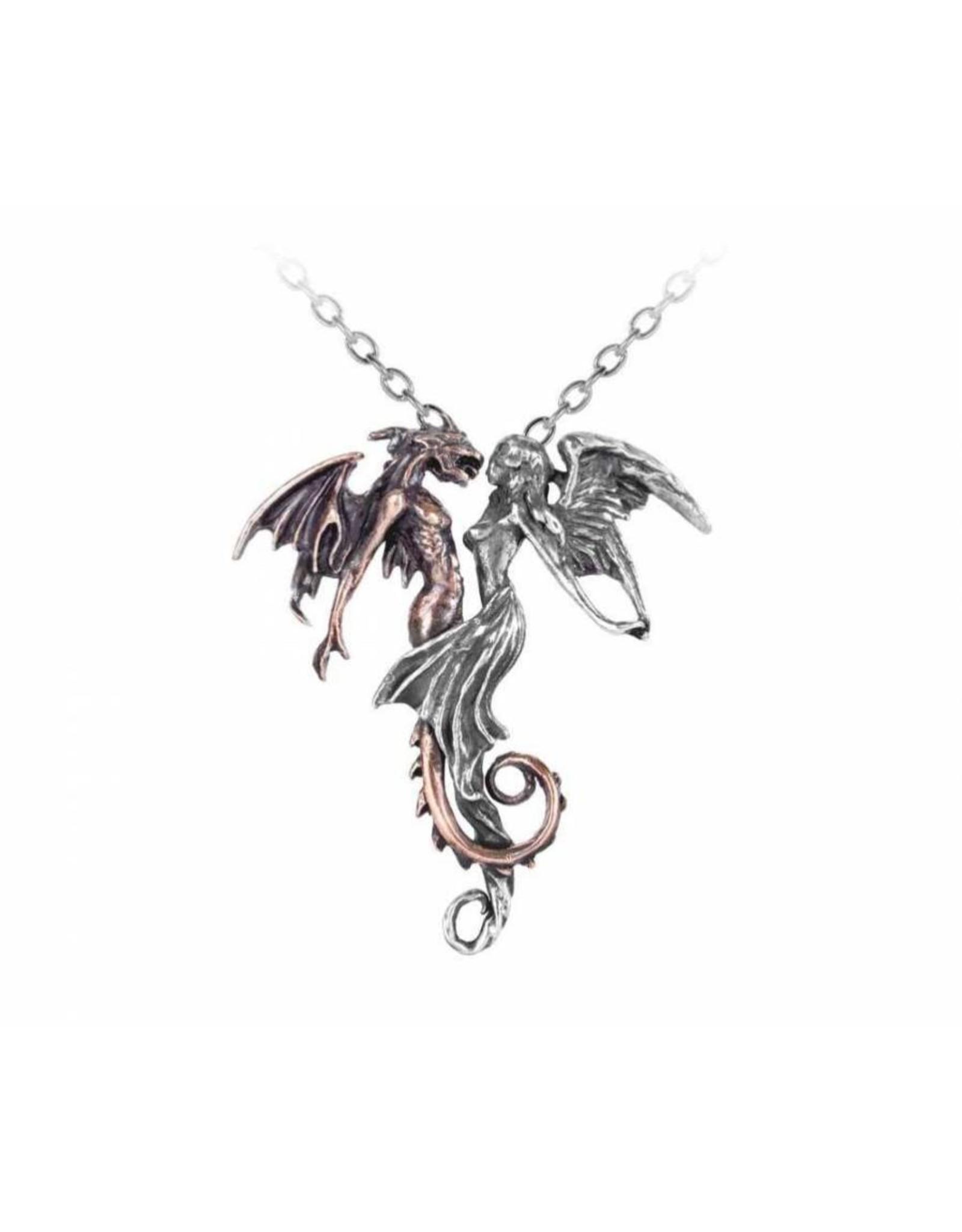 Alchemy Gothic sieraden Steampunk sieraden - Chemical Wedding hanger en ketting Alchemy