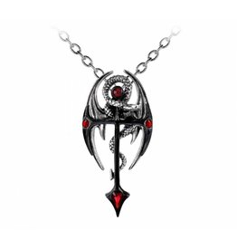 Alchemy Sold out - Dragonkreuz pendant and chain Alchemy