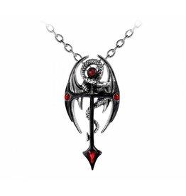 Uitverkocht - Dragonkreuz hanger en ketting Alchemy
