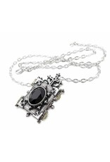 Alchemy Gothic and Cult accessories - Orthodox Icon pendant and chain Alchemy
