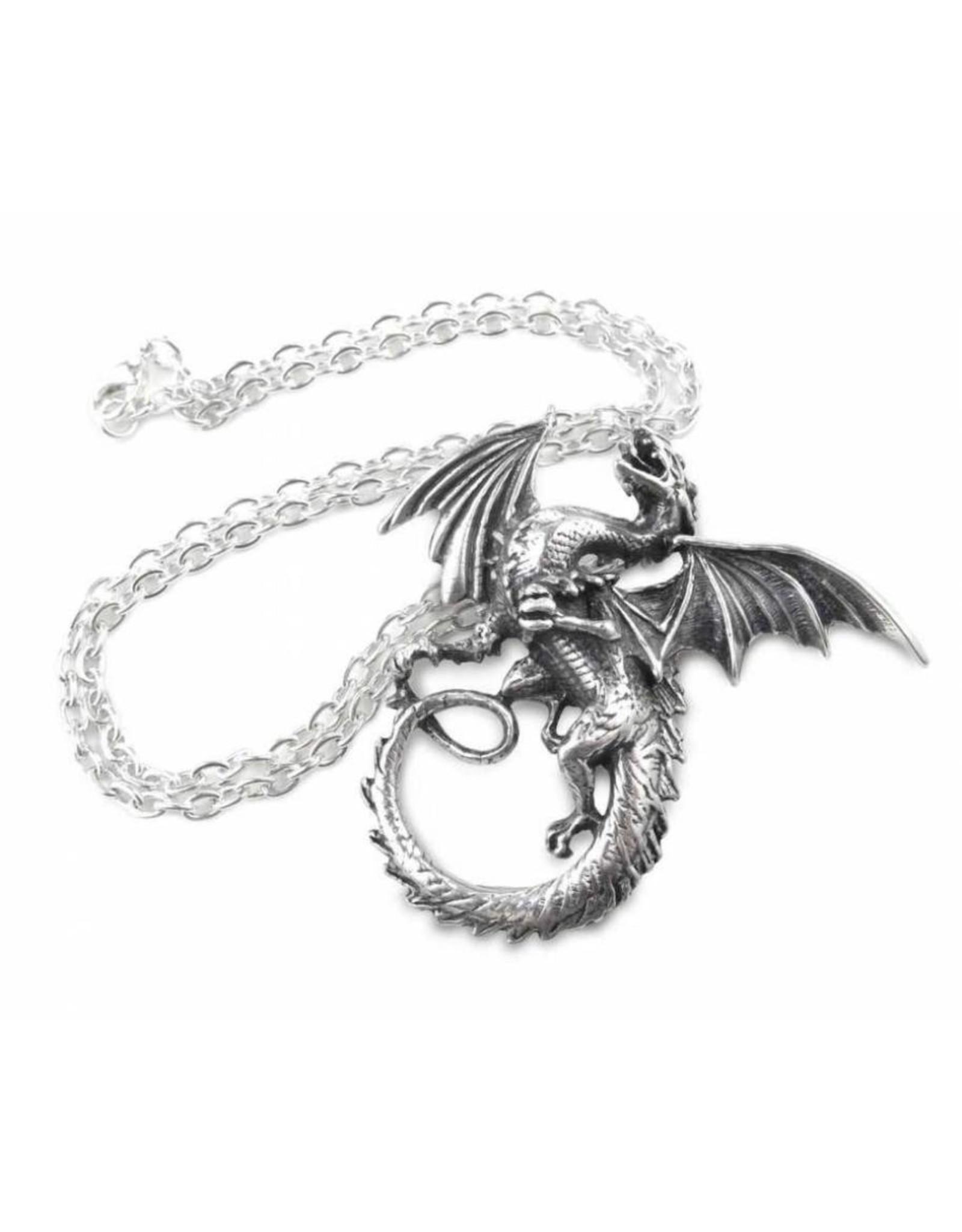 Alchemy Gothic accessoires - The Whitby Wyrm hanger en ketting  Alchemy