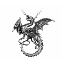 The Whitby Wyrm pendant and chain Alchemy