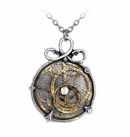 Anguistralobe pendant and necklace Alchemy