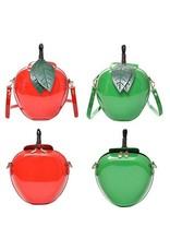 Retro tassen en Vintage tassen - Retro schoudertas Appel groen