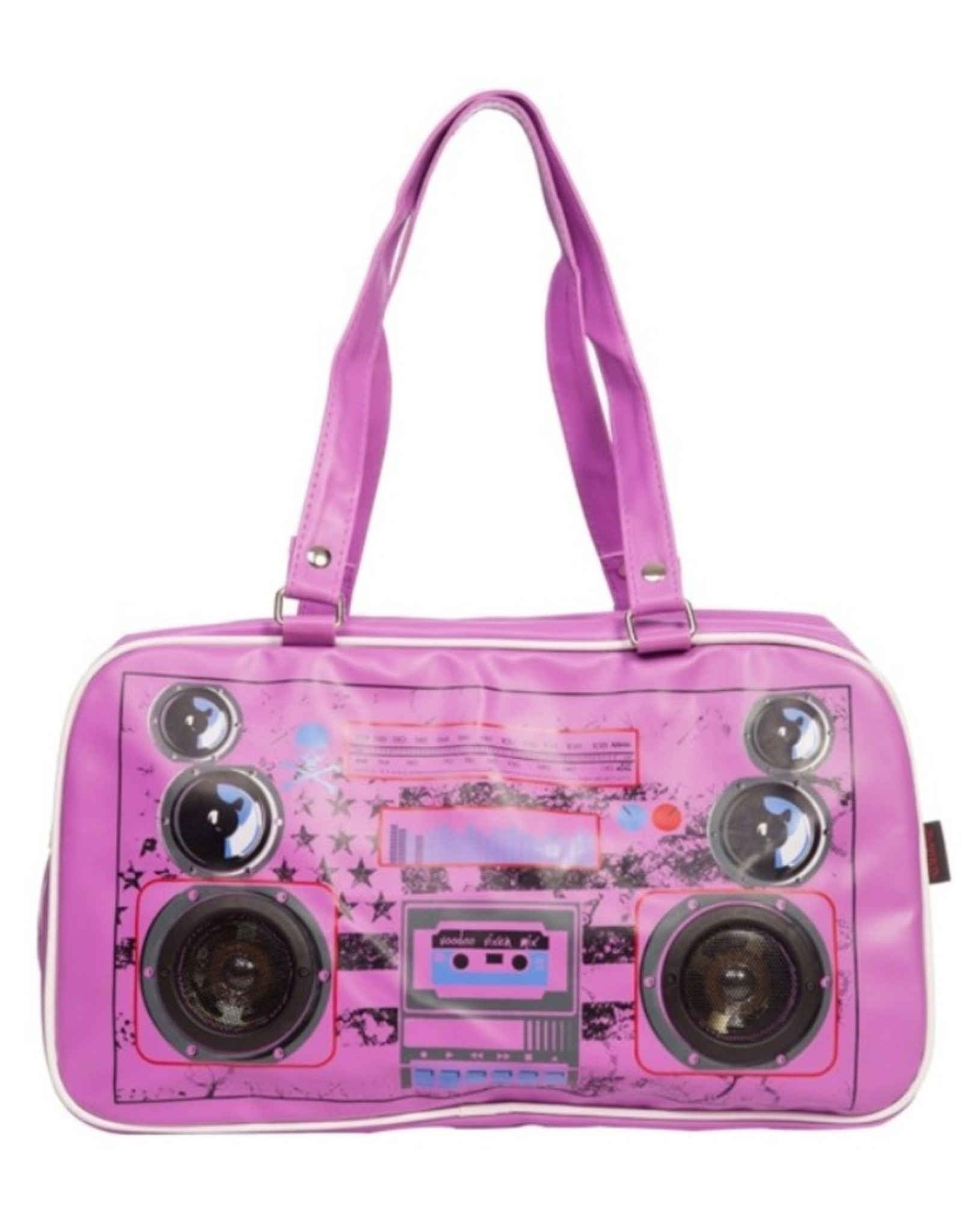 Jawbreaker Vintage tassen retro tassen -  Boombox Yankee schoudertas stereo