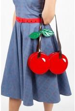 Voodoo Vixen Retro tassen Vintage tassen - Voodoo Vixen Cherry On Top handtas
