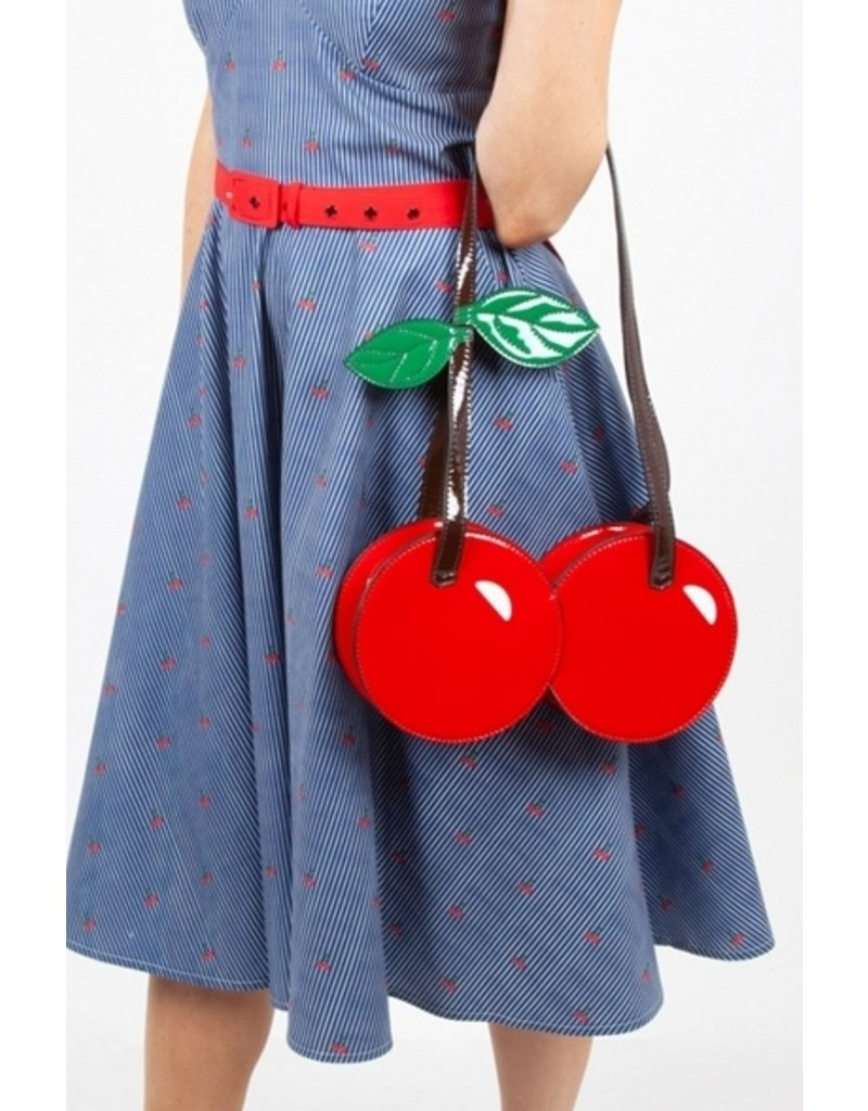 Voodo Vixen Retro tassen Vintage tassen - Voodoo Vixen Cherry On Top handtas