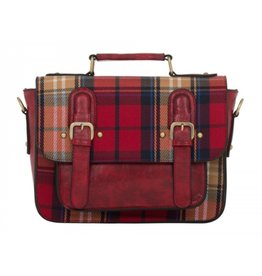 Voodoo Vixen Voodoo Vixen Winter plaid hand bag