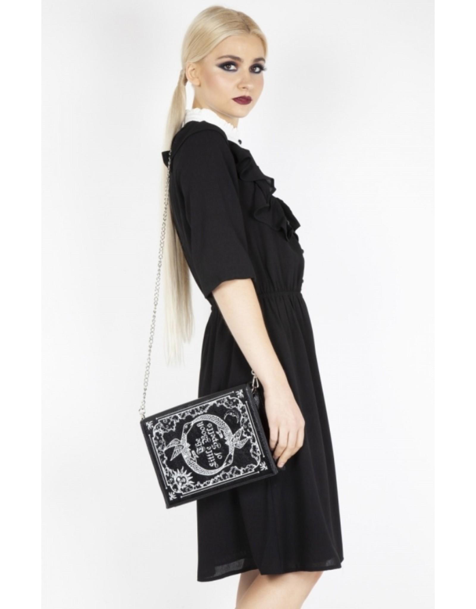 Jawbreaker Gothic bags Steampunk bags - Jawbreaker Alchemist Spellbook shoulder bag