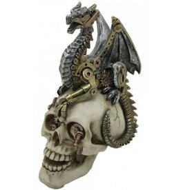 Schedel met draak Dragons Grasp