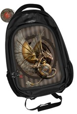 Anne Stokes Gothic bags Steampunk bags - Anne Stokes Steampunk 3D Backpack Clockwork Dragon