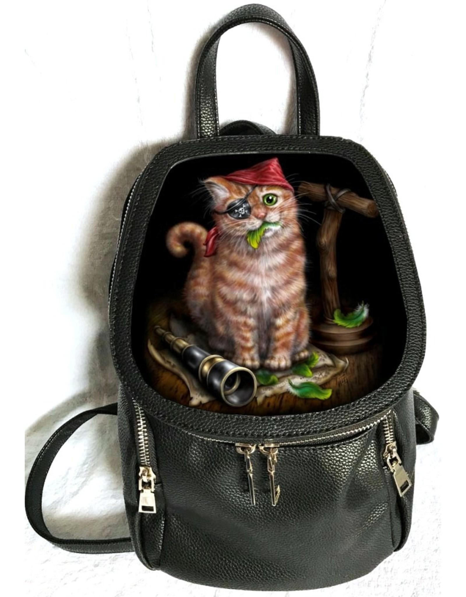 SheBlackDragon Fantasy tassen -  Linda M. Jones Pirate Kitten Rugtas 3D