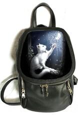 SheBlackDragon 3D Tassen en Rugzakken - Linda M. Jones Snow Kitten Rugtas 3D