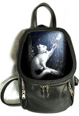 SheBlackDragon Fantasy tassen - Linda M. Jones Snow Kitten Rugtas 3D