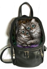 Fantasy tassen -  Linda M. Jones Longing Cats Rugtas 3D