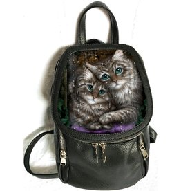 SheBlackDragon Linda M. Jones Longing Backpack with 3D image