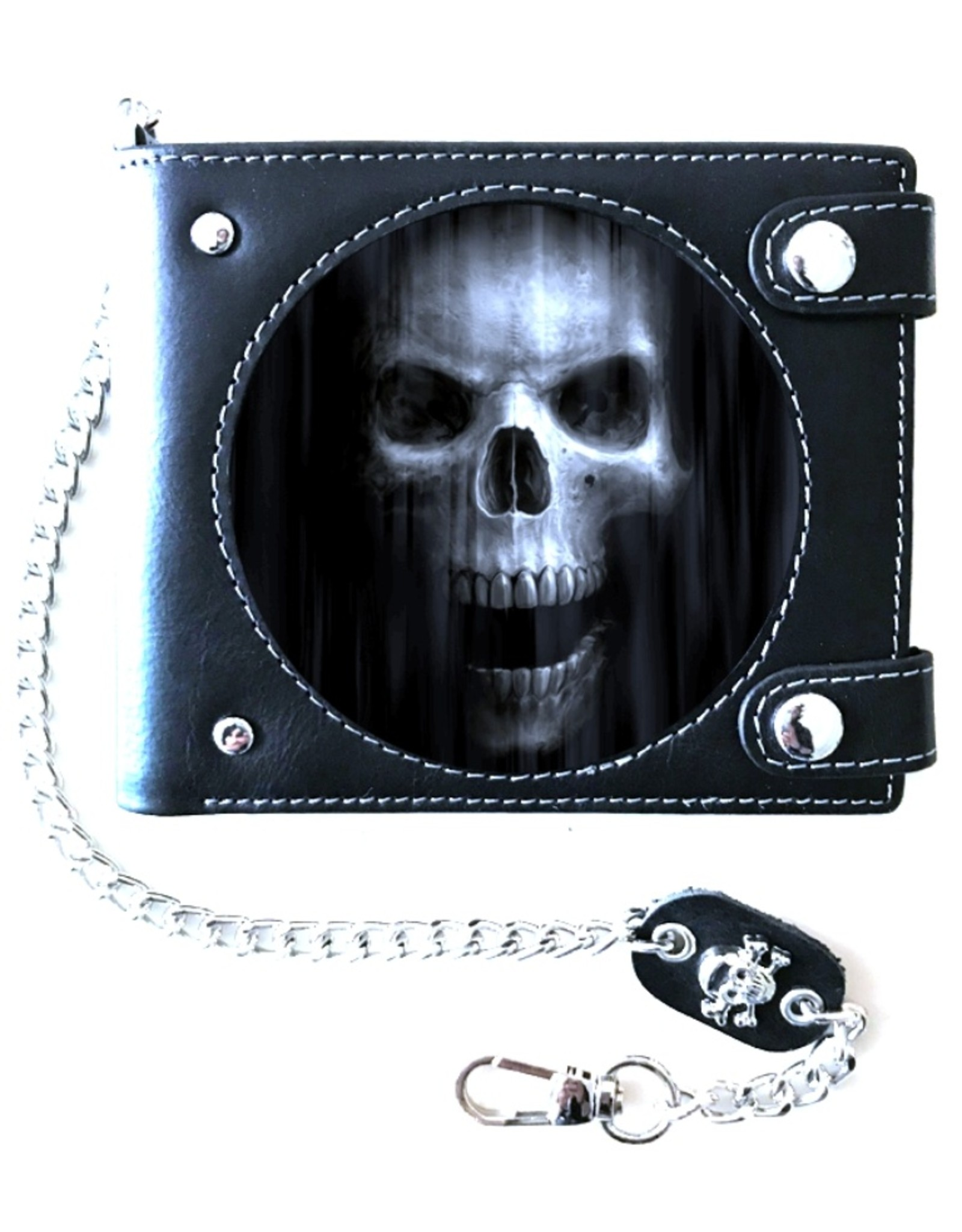 """Anne Stokes Gothic wallets and purses - Anne Stokes Lenticular 3D Wallet """"The Watcher""""(real leather)"""