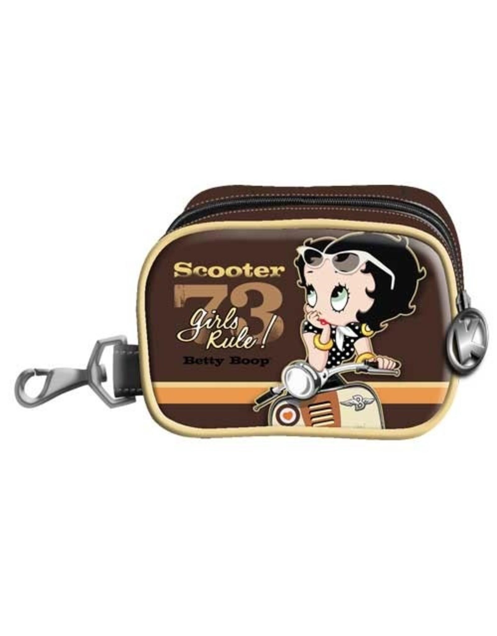Betty Boop Betty Boop tassen - Betty Boop Mini Box-tasje Scooter