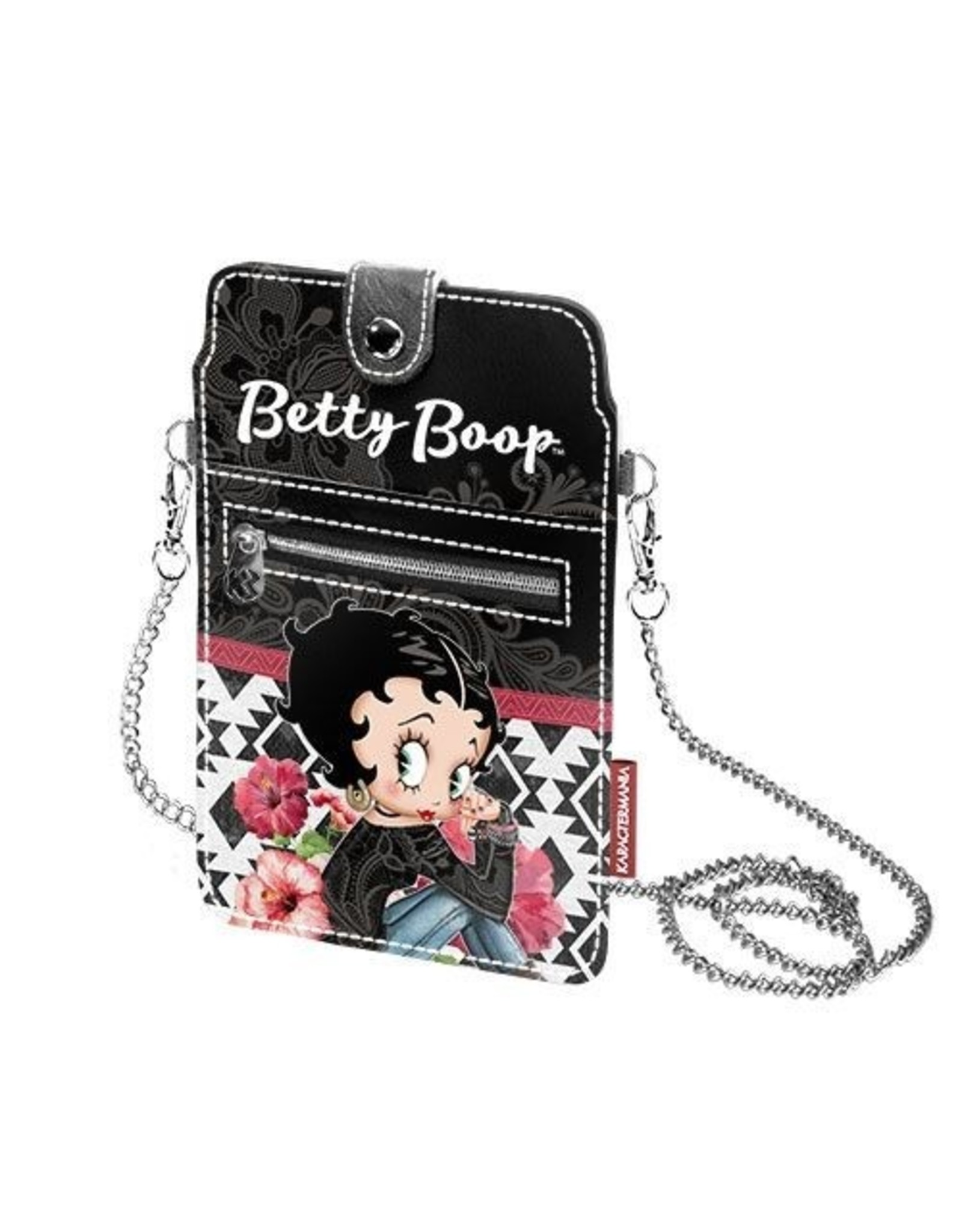 Betty Boop Betty Boop tassen - Betty Boop Mobiel tasje Tribal